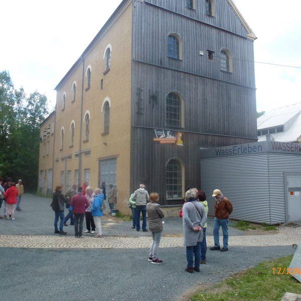 Exkursion Silberstadt Freiberg/Sachsen